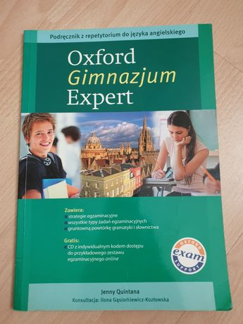 Oxford Gimnazjum Expert + płyta