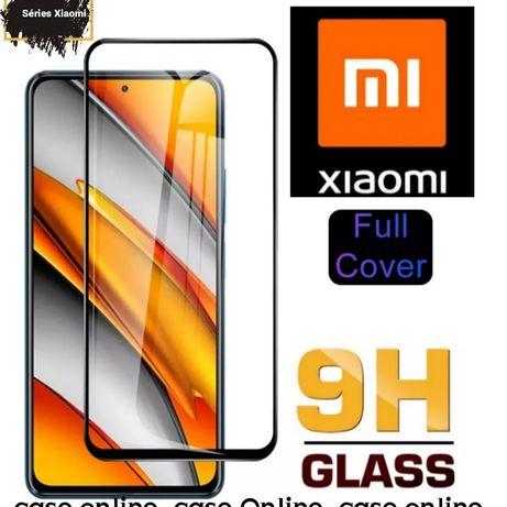 Película Vidro Temperado 5D Xiaomi Mi 10 Lite -Nova-24h