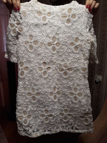 Шикарнюче біле платтячко