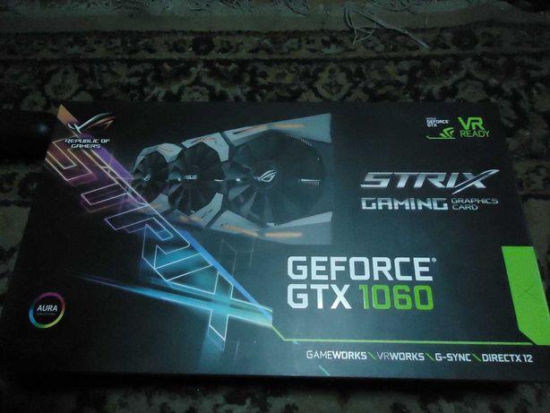 Видеокарта ASUS Rog Strix-GTX1060 6Gb-GAMING