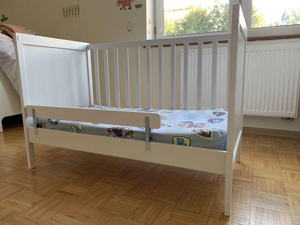 Łózeczko dziecięce IKEA Sundvik 120/60 z materacem