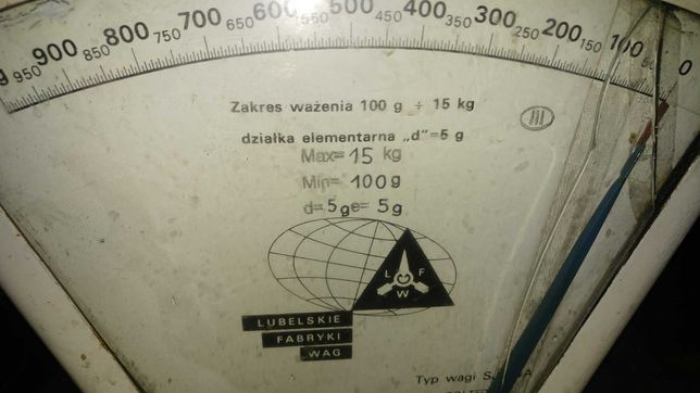 Waga LFW SJ15a 15kg