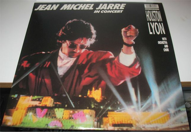 Jean Michel Jarre - In Concert - Houston Lyon - LP