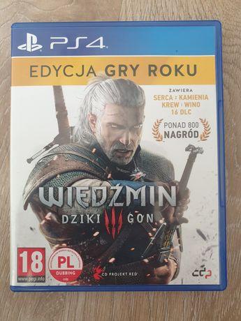 Wiedzmin 3 ps4 edycja gry roku