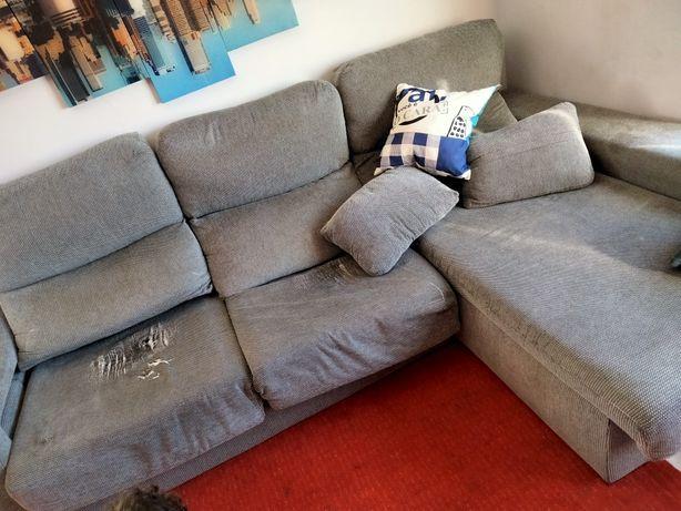 Vendo Sofá chaise longue usado