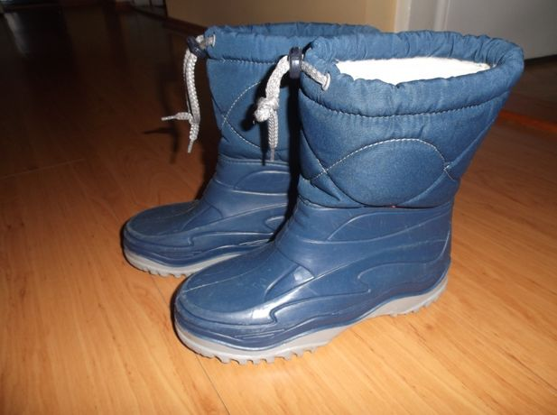 Gumowce kalosze śniegowce buty Demar 34/35