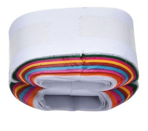 Rolo de papel colorido que sai da boca [A14]