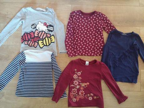 jak nowa koszulka bluzeczka dla dziewczynki H&M, C&A rozm. 122