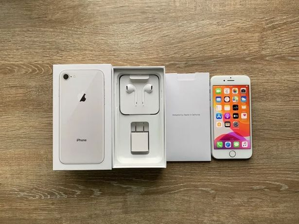 iPhone 8 64gb Silver ИДЕАЛ