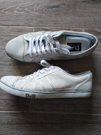 Dolce & Gabbana buty skórzane
