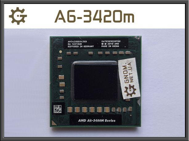 Процессор AMD A6-3420m AM3420DDX43G FS1 ноутбук A6 3420m серия 3400m
