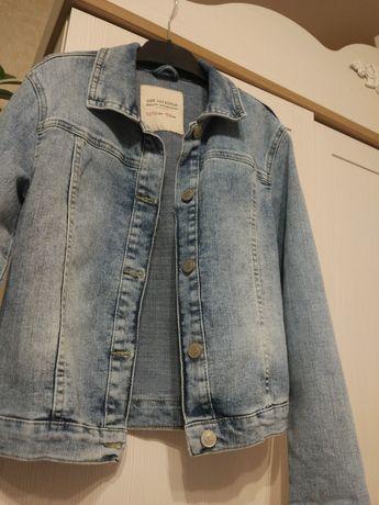 Джинсовый пиджак 152