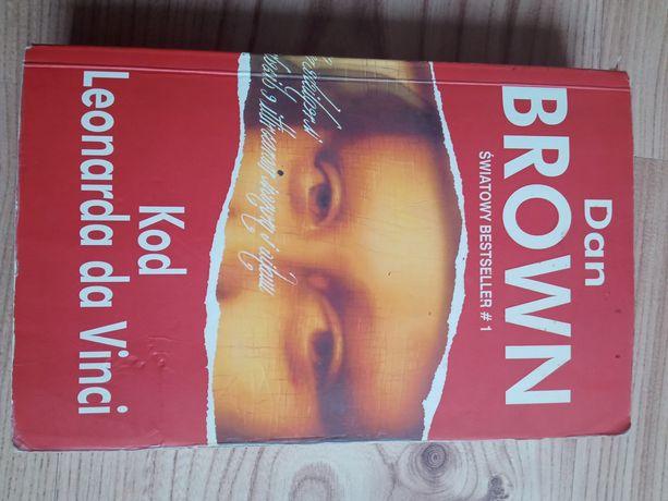 "Książka ""Kod Leonarda da Vinci"" Dan Brown"
