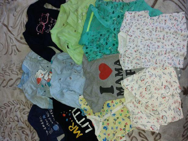 Пакет вещей на мальчика 0-6 месяцев