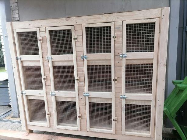 Klatka dla królików 12 komorowa