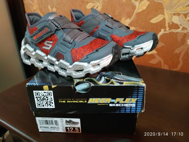 Кроссовки для мальчика Skechers р.29-30, 12,5 USA