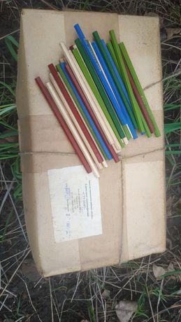Простые карандаши советского производства чертёжные