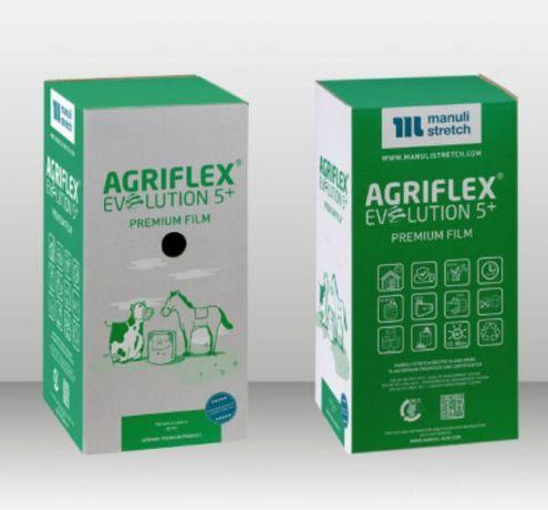 Folia do sianokiszonki Agriflex 500 biała do siana i bel słomy
