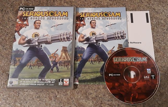Serious Sam: The Second Encounter / Drugie Starcie + SS3 PC ANG
