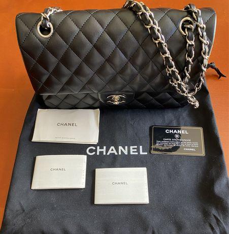 Mala Chanel Classic pele verdadeira