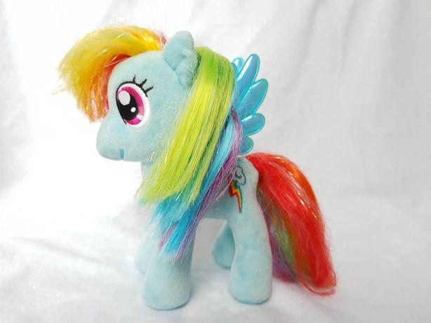My Little Pony Rainbow Dash maskotka kucyk TY 18cm do czesania tęczowy