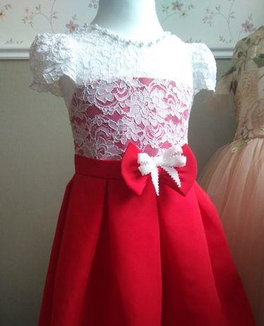 Нарядное детское платье 3-4 года прокат продажа