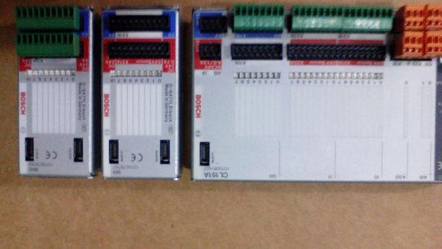 Automato bosch cl151 + carta de 8 entradas + carta de 8 saidas