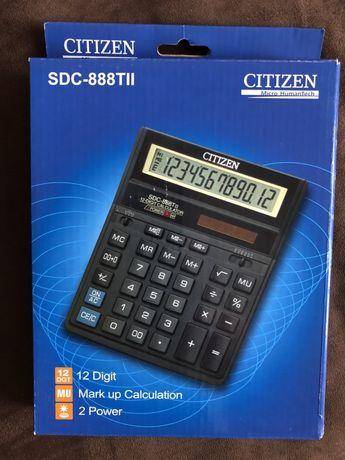 Kalkulator Citizen SDC 888 TII