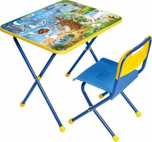 Комплект складной мебели стол и стул. 17 видов. 1190 рублей