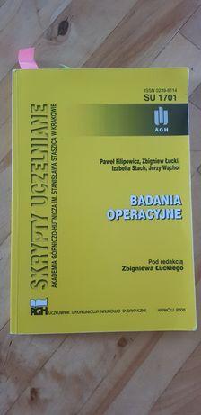 Skrypty uczelniane - Badania operacyjne
