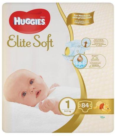 Хаггис Подгузники Huggies Elite Soft Newborn 1 (3-5 кг), 100 шт.