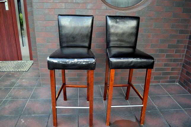 Hoker,Hokery krzesła kuchenne 2 sztuki