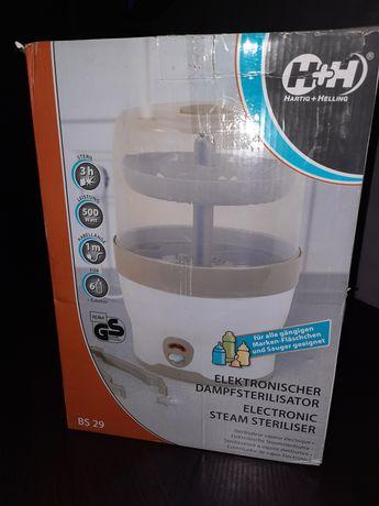 Elektryczny sterylizator parowy H+H