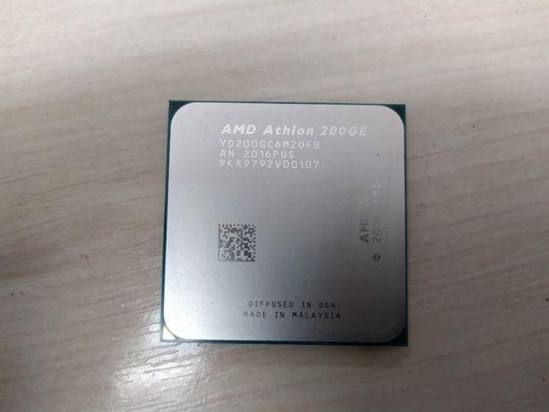 НОВЫЙ 1 год ГАРАНТИИ Процессор sAM4 AMD Athlon 200GE tray за 3600 руб