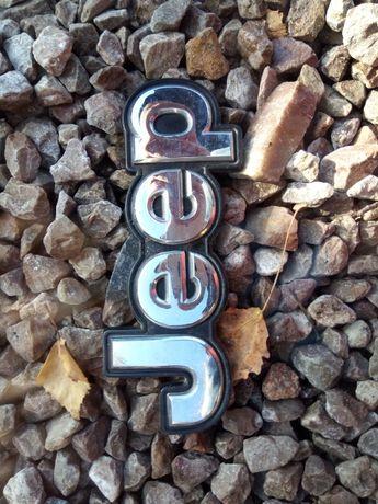 Jeep logo emblemat znaczek