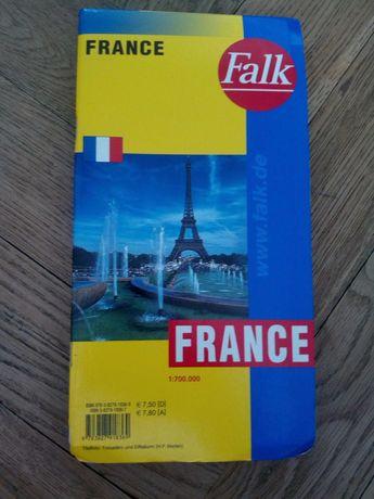 Mapa samochodowa Francja 1:700000