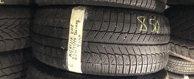 666 Пара шин R17 235/55 Michelin X-ice Continental