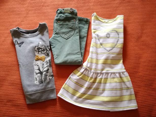 Vestido/Calça/Camisola, 5-6 Anos