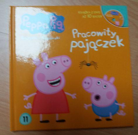 Książka / bajka + płyta Peppa Pi9 Pracowity pajączek Agnieszka Ostojas