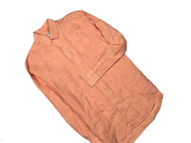 Льняная рубашка loro piana acne burberry