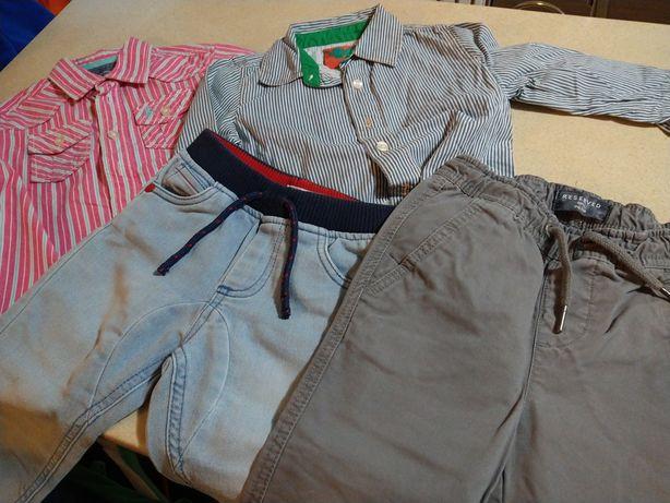 98_Reserved zestaw wizytowy dla chłopca koszule spodnie