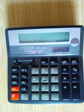 Калькулятор Citizen SDC-640 14 разрядов