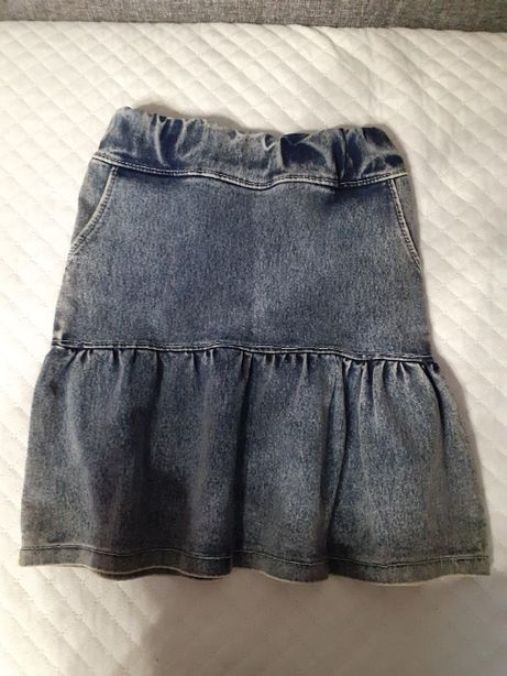 spódnica spódniczka jeans dziewczęca dla dziewczynki