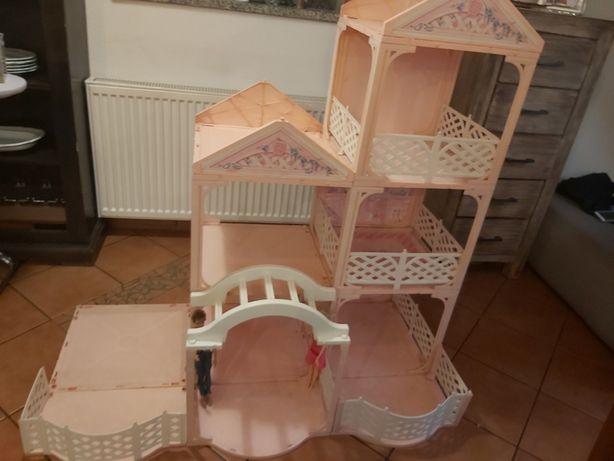 Domek dla lalek Barbie, Mattel Barbie 1995 pink pretty house 11418