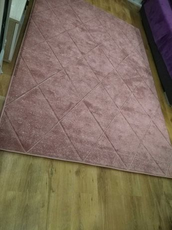 Dywan różowy romby Fuji 160x230 róż
