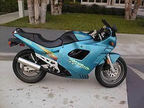Suzuki gsx f katana 600 750