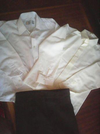 Белая рубашка 6-7 лет