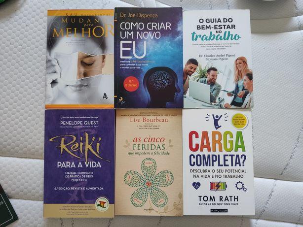 Livros variados temas