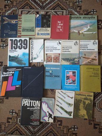 Książki historyczne wojskowe wojenne plany modelarskie lotnicze