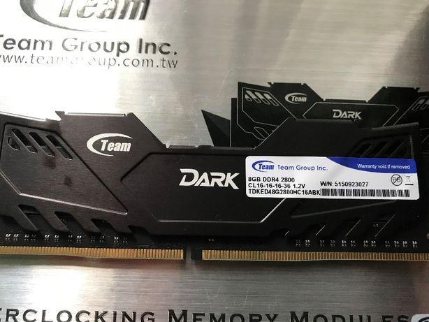 Оперативная память TEAM 8Gb (1x8Gb) DDR4 2800